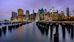 Brooklyn Heights (ArmyJacket) Tags: newyorkcity nyc manhattan brooklyn brooklynbridge park pier eastriver sunrise