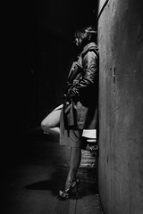 (R*Wozniak) Tags: bw blackandwhite blackwhite noir beauty women heels nikond750