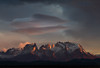 Lenticular sunrise - Torres del Paine, Chile - 08:42 am (Cyrus Smith NW) Tags: torres del paine cuernos chili chile patagonia patagonie mountain montagne sunrise cloud lenticular nuage wolke berge