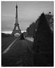 Eiffel Tower 1 (Wilco1954) Tags: france november champdemars paris eiffeltower mono