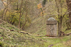 The water tower thingummy (knautia) Tags: goatgully clifton downs bristol england uk november 2017 avongorge footpath tower