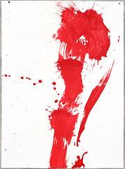 2000.09-2001.02[4] Paper red ink and metal plate oil painting Taipei Shenkeng Caodiwei studio 纸上朱墨与金属板上油画 台北深坑草地尾工作室-32 (8hai - painting) Tags: 2000092001024 paper red ink metal plate oil painting taipei shenkeng caodiwei studio 纸上朱墨与金属板上油画 台北深坑草地尾工作室 yang hui bahai