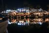 Marina De Cala d'Or (Rafael Zenon Wagner) Tags: marina hafen yachhafen harbour port nacht night lichter lights wasser water spiegelung reflection boot boat palmen palms
