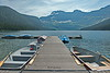 Cameron Lake (joeinpenticton Thank you 1.7 Million + views) Tags: waterton lakes national park alberta montana glacier canoe joeinpenticton joe jose garcia boat row boats paddle oar dock pier wharf mountain mountains valley snow ice glaciers canada us ca america usa