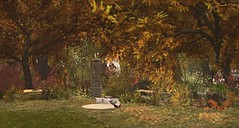 Autumn Garden (Sannita_Cortes) Tags: aphroditeshop autumn decoration fall featured furniture landscaping nature swank tmcreation tree building bush decorating furnituredecor garden secondlife sl virtualworld virtual virtuallandscape virtualnature