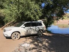 Verde River Sheep Bridge (Ant_Man1120) Tags: verde river arizona lake horseshoe drive road trip toyota highlander 2012 awd 4wd offroad beach iphone iphone8 plus