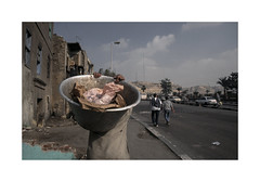 Untitled.   ( Cairo ) 2002 (José Luis Cosme Giral) Tags: untitled travel smoker men street lifes streetphotography nikon f80 provia400 cairo egypt 2002 scanned