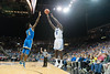 Creighton's Khyri Thomas Shoots over UCLA's Chris Smith