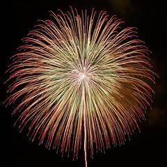 2017 いばらきまつり 2017 Ibaraki Festival (ELCAN KE-7A) Tags: 日本 japan 茨城 ibaraki いばらき 花火 fireworks 10号 尺玉 野村花火工業 野村 nomura ペンタックス pentax k3ⅱ 2017