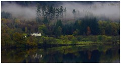 The house on the Loch. (A tramp in the hills) Tags: loch venachar house trossachs scotland