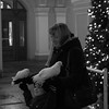 Mom, son and white pigeons (kyoiinu) Tags: russia stpetersburg family dove whitedove blackandwhite pigeon holiday newyear
