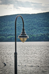 lamppost (avflinsch) Tags: ifttt 500px lake water ny lamp pier george