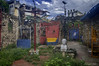 A Backyard in Hamel Alley (Greatest Paka Photography) Tags: josemarti cuba hamelalley elcallejondehamel havana salvadorgonzalesescalona art rundown afrocuban cayohueso backyard garden sidestreet artproject martyr