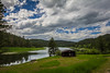 Cook Lake from on high (dharder9475) Tags: 2017 bathroom campground campsite clouds hdr lake nature outdoor overcast privpublic small trees washroom woods