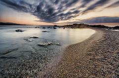 comença un nou dia (Josep M.Toset) Tags: aigua alba baix·ebre catalunya d800 nikon josepmtoset mar marina mediterrani matinada sol sortidadesol núvols roca roques lucroit hitech