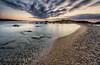 comença un nou dia (Josep M.Toset) Tags: aigua alba baix·ebre catalunya d800 nikon josepmtoset mar marina mediterrani matinada sol sortidadesol núvols roca roques lucroit hitech afsnikkor1424mmf28ged