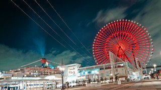 海遊館 Kaiyukan Ferris Wheel