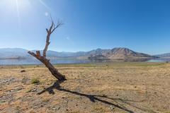 Lake Isabella. (cmedek) Tags: red california roadtrip nature mountains mountain desert lake isabella