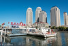 171029 Tianjin-10.jpg (Bruce Batten) Tags: vehicles plants subjects reflections buildings boats businessresearchtrips china shadows locations trips occasions rivers urbanscenery tianjin trees people