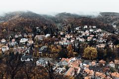 Wernigerode - autumn season (Gruenewiese86) Tags: harz nebel schloss wernigerode autumn wolken regen herbst herbstlich sachsenanhalt stadt tourismus trave travel exploreharz 35mm canon
