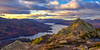 Ben A'an looking over Loch Katrine (Pano) (MilesGrayPhotography (AnimalsBeforeHumans)) Tags: autumn a7ii 1635 sonyfe1635mmf4zaoss britain benaan loch lochlomond lochlomondandthetrossachs trossachs lochkatrine dusk hill europe evening fe f4 glow golden historic historicscotland iconic ilce7m2 island landscape lens mountains munro outdoors oss photography photo panorama panoramic pano tranquil rocks clouds snow scotland sky skyline scenic sunset sunlight sonya7ii sony sonyflickraward twilight trees uk unitedkingdom sunshine wide water zeiss za callendar cpl callander binnien