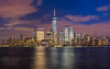 City That Never Sleeps (mikeSF_) Tags: newyork oneworldtrade center tower skyline night longexposure ny cuty cityscape water hudsonriver newjersey downtown wwwmikeoriacom mikeoria landscape sky skyscraper city world trade exchange place jersey outdoor hudson river