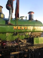 IMG_7976 - WESTERN (SVREnthusiast) Tags: severnvalleyrailway svr severnvalley severn valley railway gwrhudswellclarkesaddletank813 gwr hudswellclarke saddletank 813
