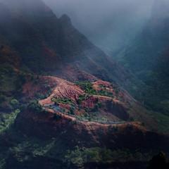 Waimea Canyon Lookout || Kauai (David Marriott - Sydney) Tags: waimea hawaii unitedstates us canyon lookout