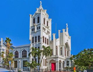 St Paul's Episcopal Church, 401 Duval Street, Key West, Florida, USA / Completed: 1912