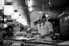 Three cooks (mripp) Tags: art vintage retro old food cooking cook tokyo black white mono monochrom sushi essen work working arbeiten leica m10 summicron 50mm