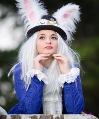 alice in wonderland (Hugo Miguel Peralta) Tags: alice wonderland mikon 80200 nikon d7000 cosplay fantasia movie