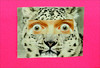 Mail Art Postcard. No. 4578. (Dave Whatt) Tags: tiger tyger mailart postcard humour cuteness eyes fluorescent collage staring face