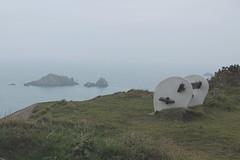 Misty Alderney coastline (rutteri) Tags: alderney island coast sea mist views channelisland