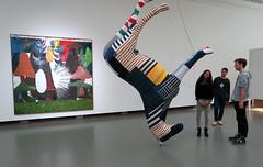 Discussing Art (YIP2) Tags: painter artist talr prints art museum rotterdam exhibition print boijmans watchers painting