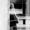 Healing process (theoswald) Tags: self shadows portrait nikon street people camera blackandwhite reflection highcontrast light