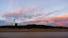 Evening sky (Jaedde & Sis) Tags: blåvand lighthouse clouds dusk light beach friendlychallenges cloudscape