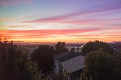The Bay from Outlook Ave (luqmac) Tags: magicmediaproduction nikoncameras nikond610 urbanlandscape bayarea cityofoakland oaklandca clouds eastoakland sanleandrobay sunset thebay