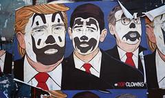 GOP Clowns (neilsonabeel) Tags: canonetql17 canonet canon rangefinder film analogue streetart