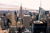 Walk In New York - NYC 2017 - Top Of The Rock - Empire State Building (op_perrin) Tags: x100f topoftherock empirestatebuilding manhattan newyork rockfellercenter