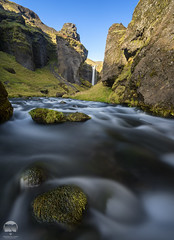 Kvernufoss Flow   Iceland (kenneth chin) Tags: nikon d810 nikkor 1424f28g nisi yahoo google kvernufoss waterfall rock iceland attraction landscape