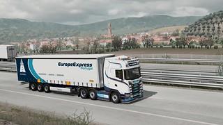 Scania S580 V8