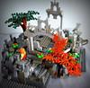 Weathertop Detail Filtered (Wafna-204) Tags: lego lotr lordoftherings weathertop hobbit tolkien custom wip