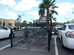 Walmart Neighborhood Market - North Port, FL - Cart Corral (SunshineRetail) Tags: walmart neighborhood market northport fl grocery store florida supermarket
