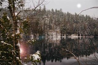 Reflet d'hiver...
