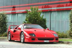 New Wheels (Mattia Manzini Photography) Tags: ferrari f40 supercar supercars cars car carspotting nikon v12 red classic ferrari70 automotive automobili auto automobile maranello italy italia