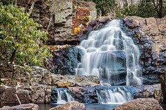 Hawk Falls (tesarver) Tags: lehighvalley eosm5 tamron18200mmdi3 waterfalls canonusa mytamron hawkfalls mycanon tamronusa canon poconos albrightsville pennsylvania unitedstates us