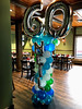 60th Birthday (PartiLife) Tags: columns 60thbirthday 60 teal green turquoise white basics centerpieces