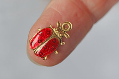 Ladybird charm (Arkle1) Tags: macromondays fingertips