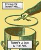 Subversive Comic Print Art (FutureNostalgia) Tags: pottyhumor subversive crass vulgar immature obnoxiousart wienercomics