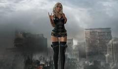 Apocalypse Now! (Steph Carfagno) Tags: secondlife leather apocalypse sl